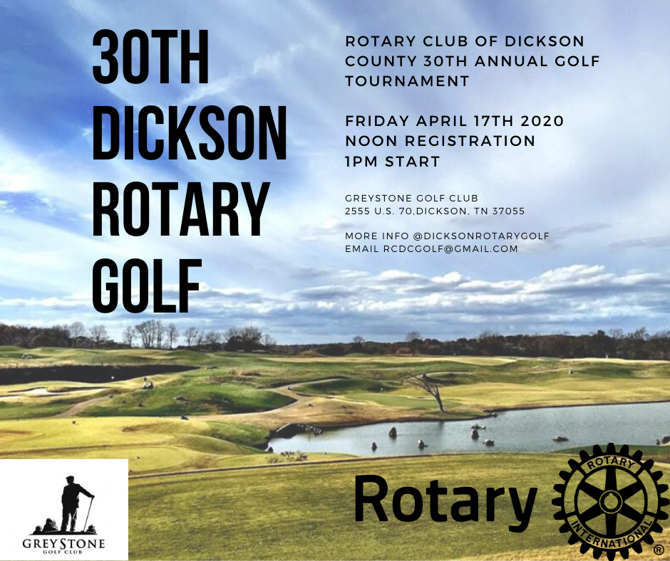 2021 Rotary Club of Dickson County Golf Tournament gallery image #1