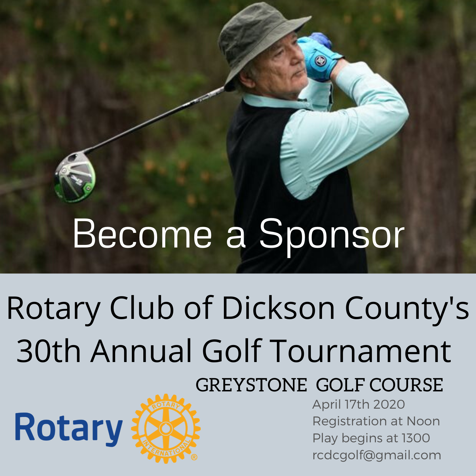 2021 Rotary Club of Dickson County Golf Tournament gallery image #2