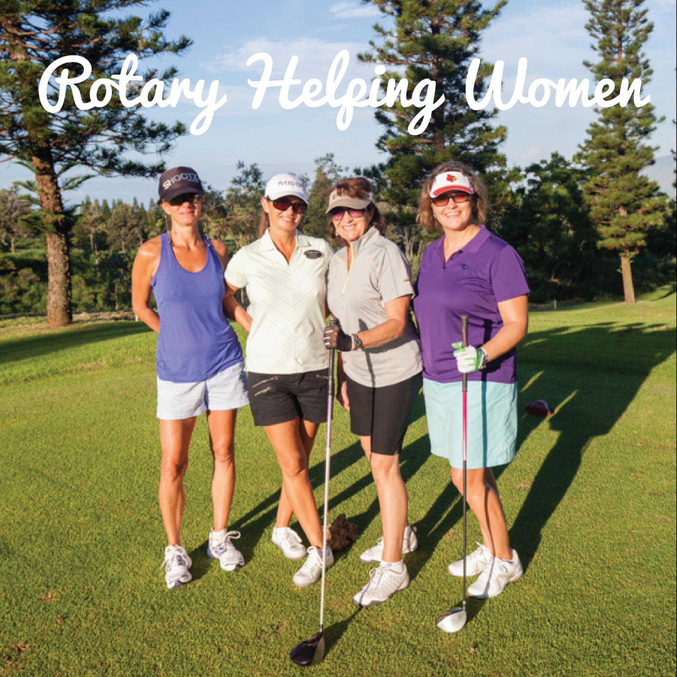 Rotary Helping Women Golf Tournament 2021 gallery image #5