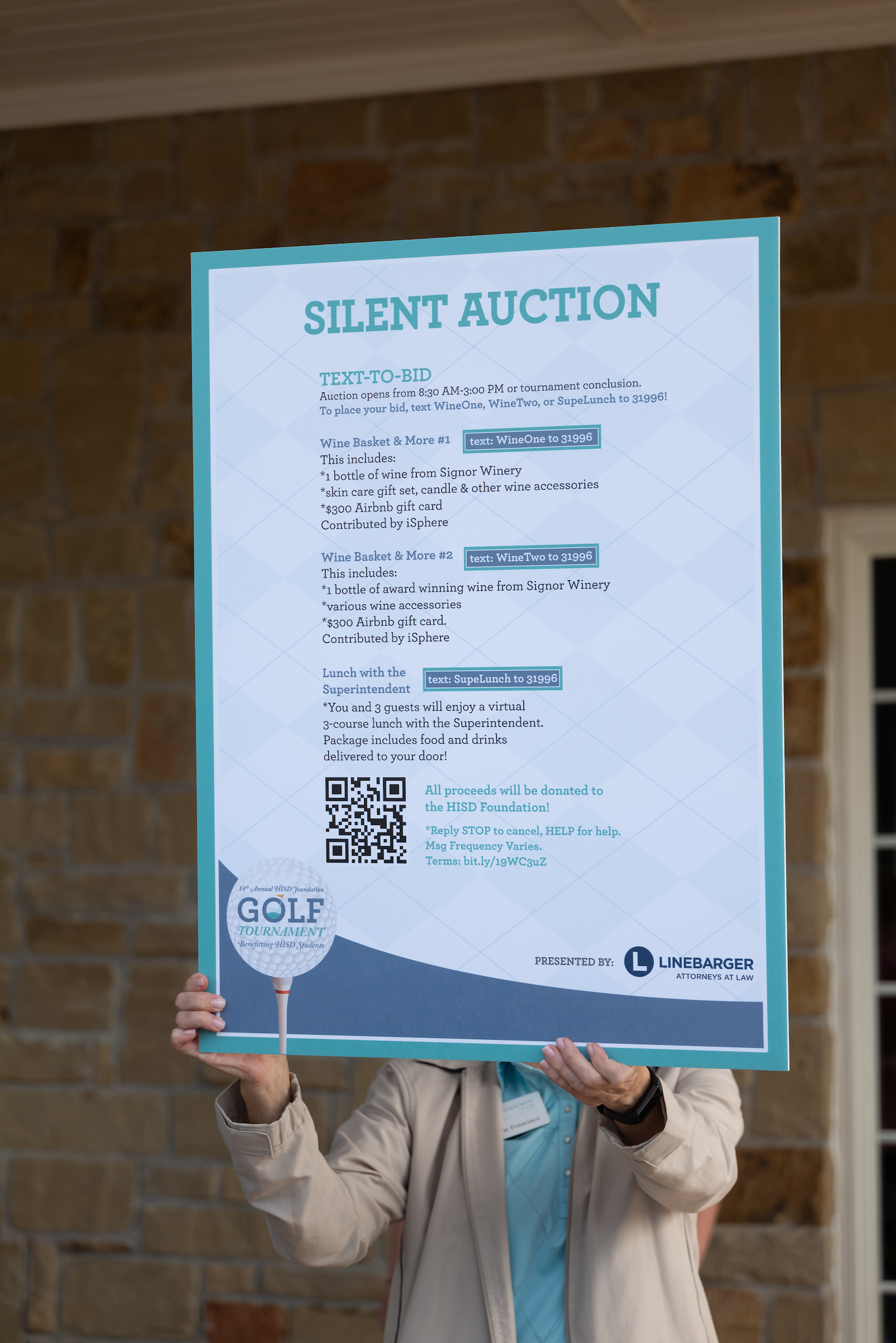 15th Annual HISD Foundation Golf Tournament gallery image #37
