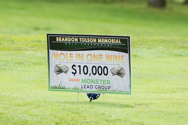 2nd Annual Brandon Tolson Foundation Golf Outing gallery image #11