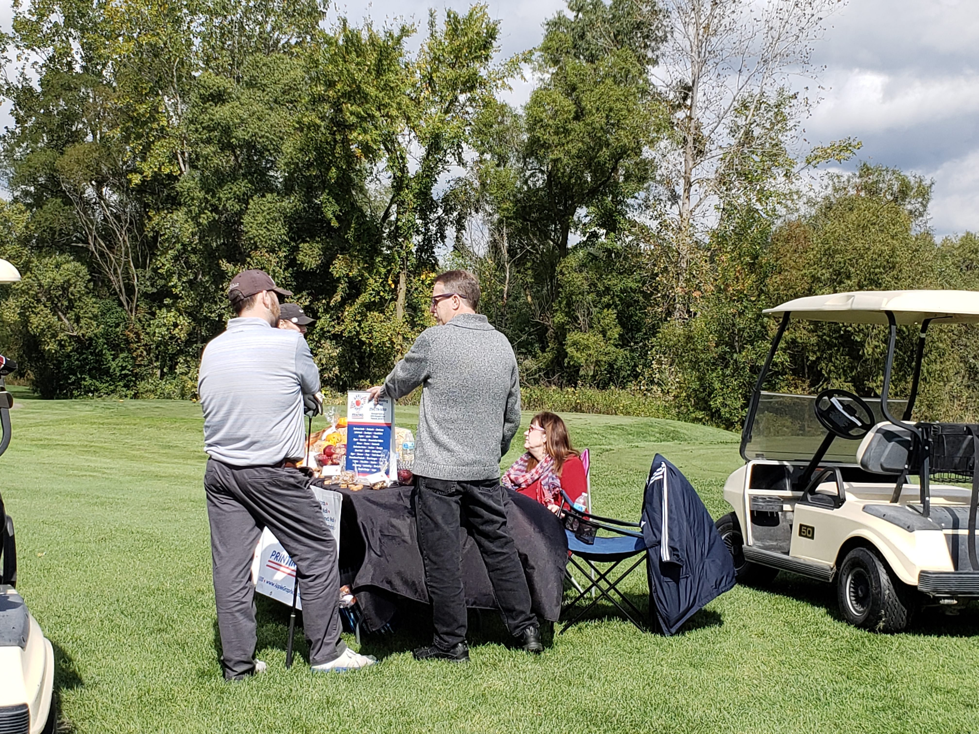 6th Annual CaerusNet Golf Outing gallery image #15