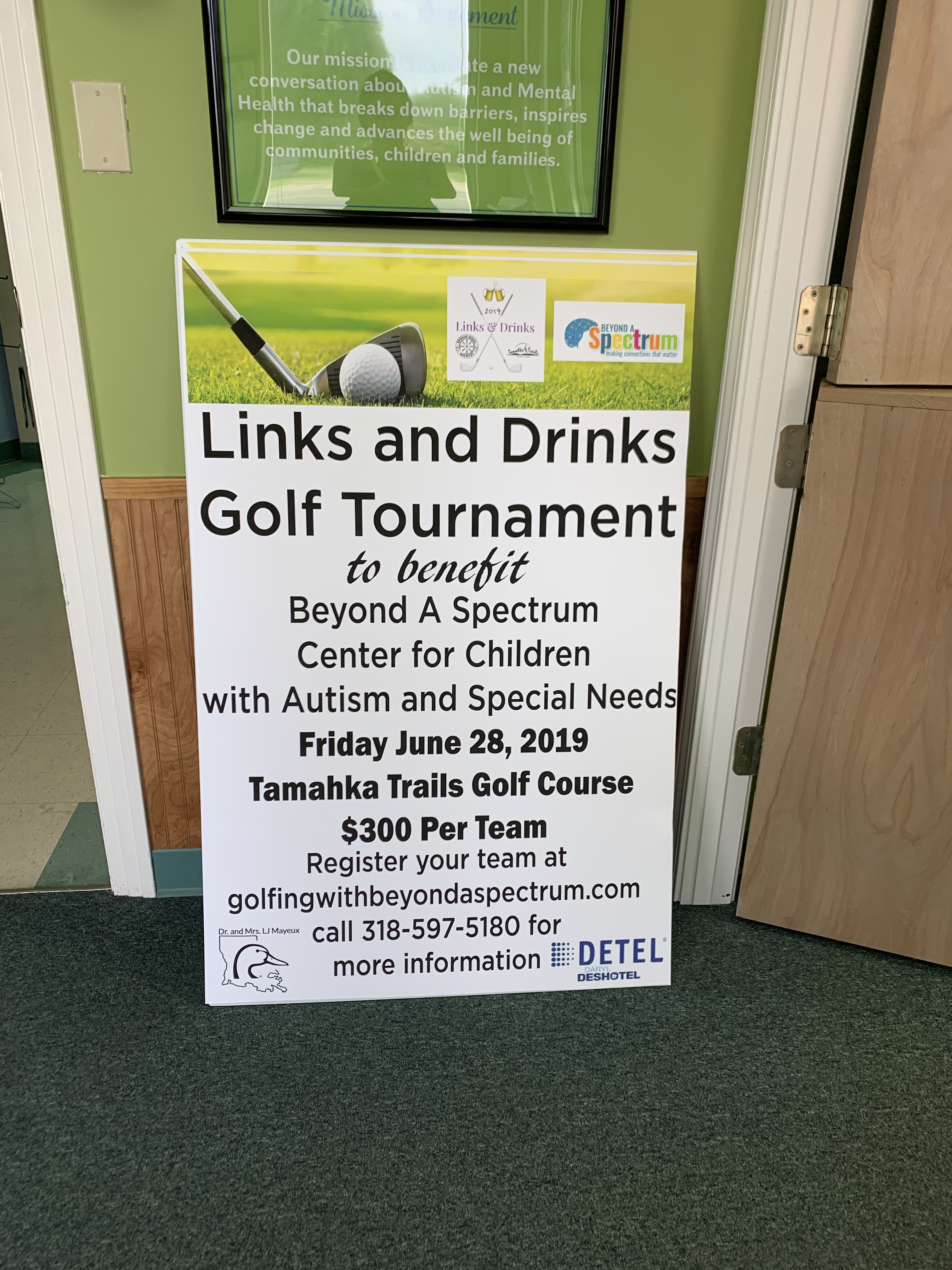2nd Annual Links and Drinks Golf Tournament Benefiting Beyond A Spectrum Center for Autism and Special Needs gallery image #1