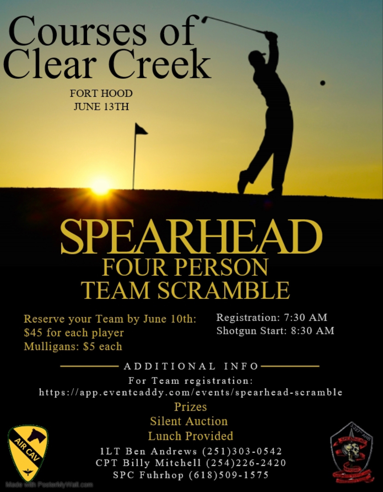 Event home page - Spearhead Scramble