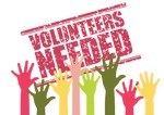 Volunteers Needed Sign