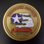 Image of Tuskegee Airmen 75th Anniversary Challenge Coin