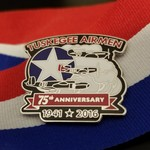 Image of Tuskegee Airmen 75th Anniversary Pin
