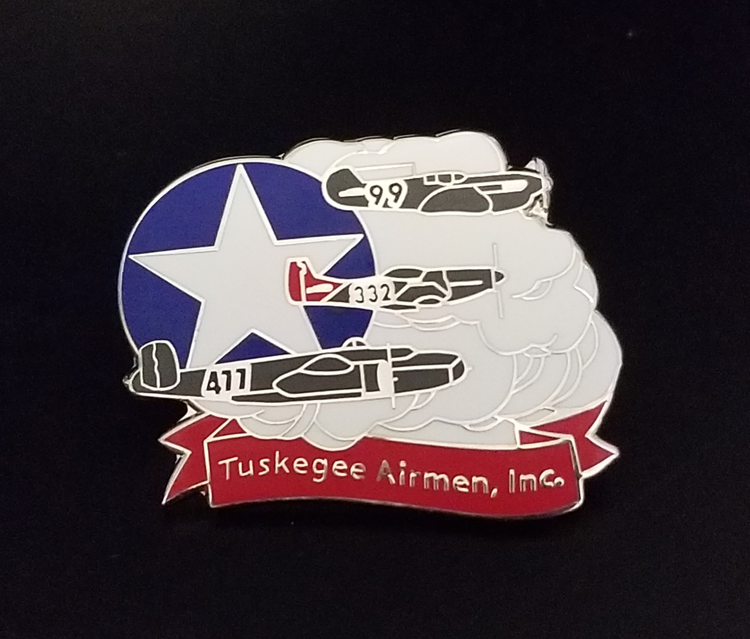 Inaugural Tuskegee Airmen Charity Golf Tournament - Default Image of Tuskegee Airmen lapel pin