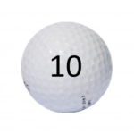 Image of Golf Ball #10