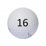 Image of Golf Ball #16