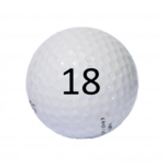 Image of Golf Ball #18