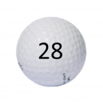 Image of Golf Ball #28