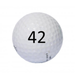 Image of Golf Ball #42