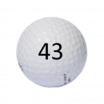 Image of Golf Ball #43