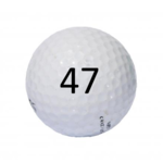 Image of Golf Ball #47