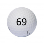Image of Golf Ball #69