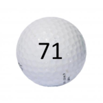 Image of Golf Ball #71