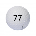 Image of Golf Ball #77