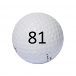 Image of Golf Ball #81