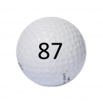 Image of Golf Ball #87