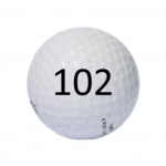 Image of Golf Ball #102