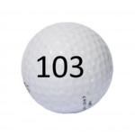 Image of Golf Ball #103
