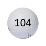 Image of Golf Ball #104