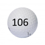 Image of Golf Ball #106