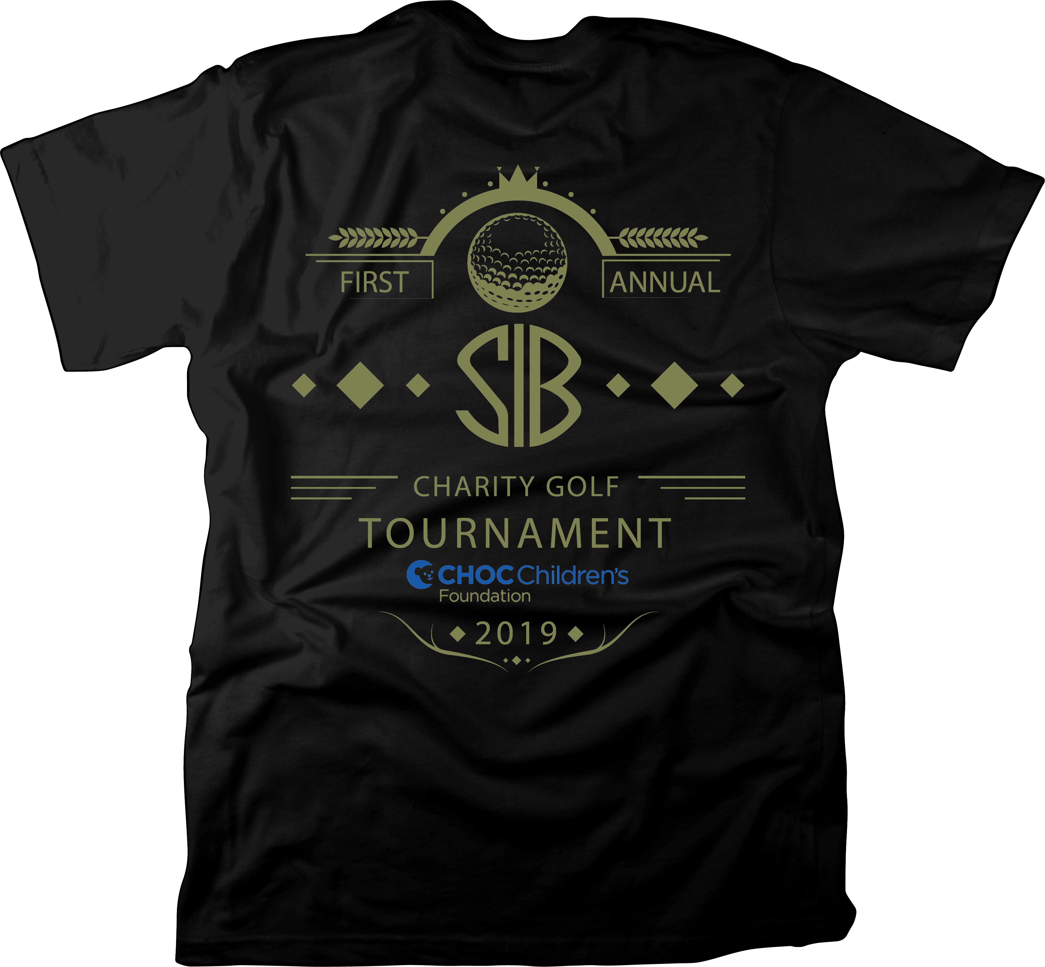 1st Annual S.I.B. Charity Golf Tournament - Default Image of EVENT T-SHIRT