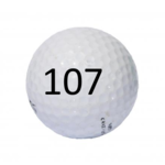 Image of Golf Ball #107