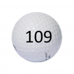 Image of Golf Ball #109