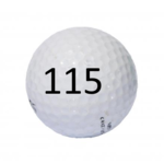 Image of Golf Ball #115