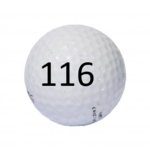 Image of Golf Ball #116