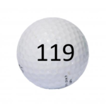 Image of Golf Ball #119