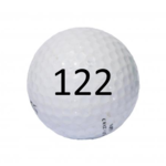 Image of Golf Ball #122