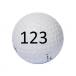 Image of Golf Ball #123