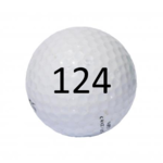 Image of Golf Ball #124