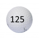 Image of Golf Ball #125