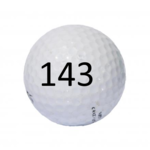 Image of Golf Ball #143