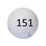Image of Golf Ball #151
