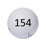 Image of Golf Ball #154
