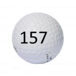 Image of Golf Ball #157