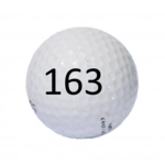 Image of Golf Ball #163