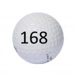 Image of Golf Ball #168
