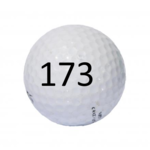 Image of Golf Ball #173