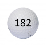 Image of Golf Ball #182