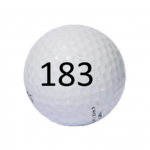 Image of Golf Ball #183