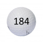 Image of Golf Ball #184