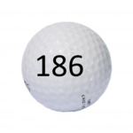 Image of Golf Ball #186