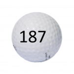 Image of Golf Ball #187